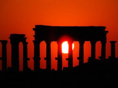 パルミラの夕景②