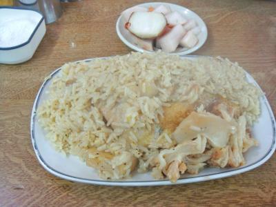 チキン炊き込み飯