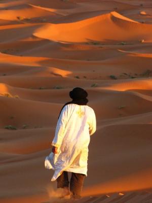 砂漠の民が行く@メルズーガ