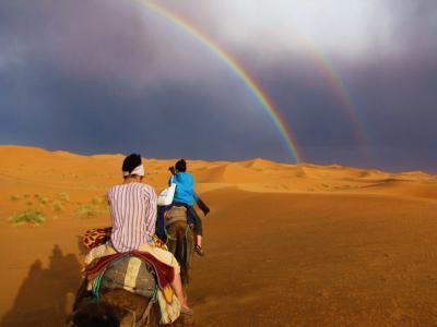 虹に向かって…@メルズーガ