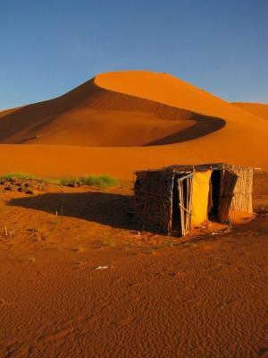 砂漠小屋@メルズーガ