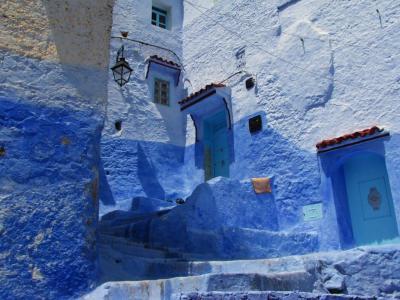 青と白の空間①@シャフシャウエン