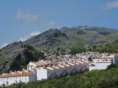 白い家並の丘②