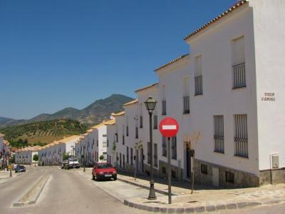 白い村の道①