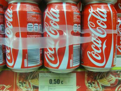 コカコーラ : 0.5ユーロ@セビーリャ