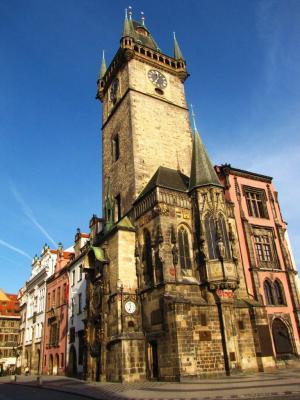 旧市庁舎の朝@プラハ