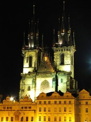 教会の夜@プラハ