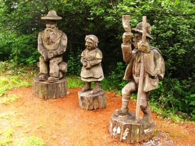 木彫りの人々@マイエンフェルト