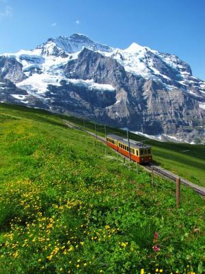 ユングフラウ登山鉄道①