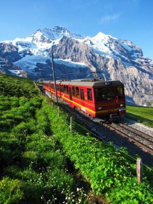 ユングフラウ登山鉄道②