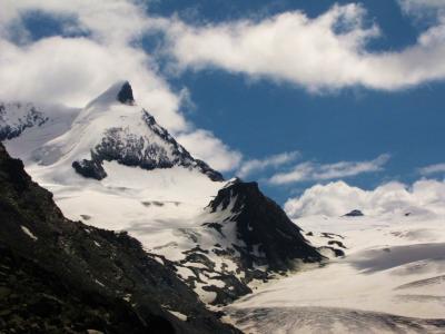 氷河の迫力②@ヴァリス・アルプス