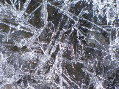 氷模様@サース谷