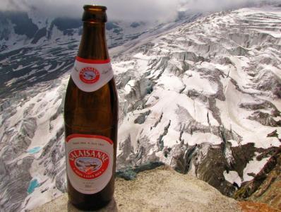 氷河印のビールと、本物@サース谷