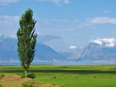 トクトグル湖展望