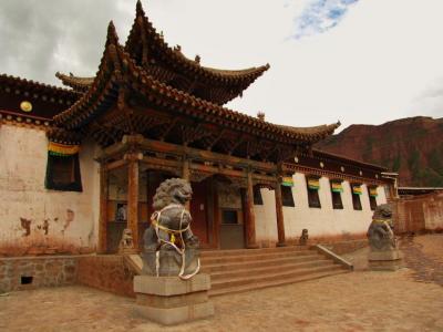 拉加寺正面門