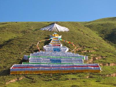 チベットの遊び心?@班瑪