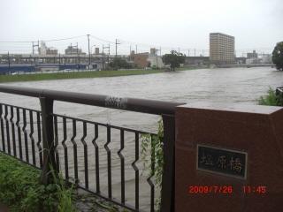 那珂川増水4