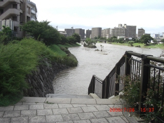 那珂川増水2-3