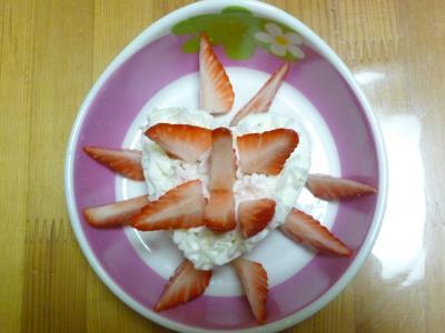 いちご&ケーキ