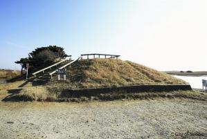 国内で2番目に低い山、3・11の津波で消える