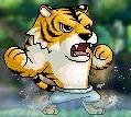 振りかぶるトラ