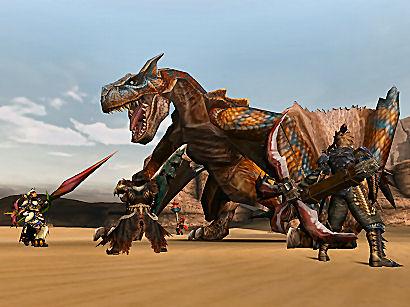 ティガレックス 戦闘