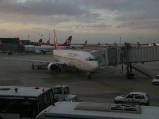 曇りのイスタンブール
