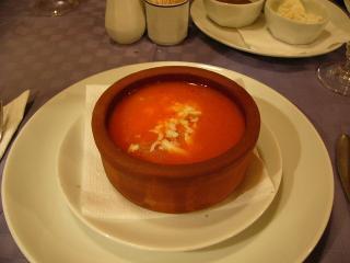 アタマンホテルの夕食