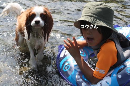 今年初川遊びだぜぃ!!!!