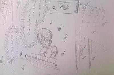 音楽室のピアノ