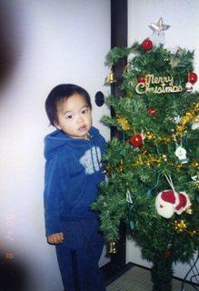 海渡2歳クリスマス