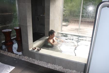 また朝風呂