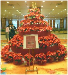リーガロイヤルのクリスマスツリー