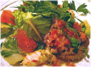 魚介のマリネのサラダ仕立て