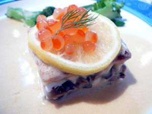 明石鯛のパイ包み焼きブールブランソース