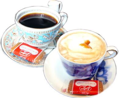 コーヒー&キャラメルラテ