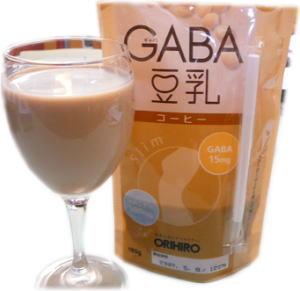 "「GABA豆乳」""コーヒー"""
