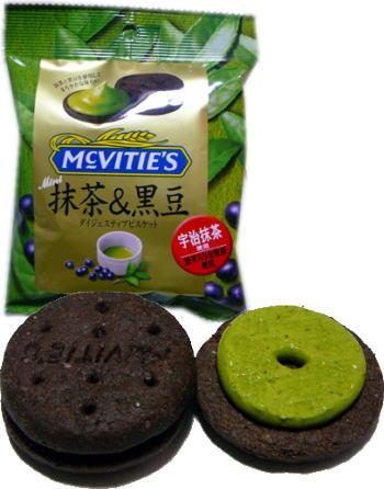 """McVITIE'S """"抹茶&黒豆"""""""