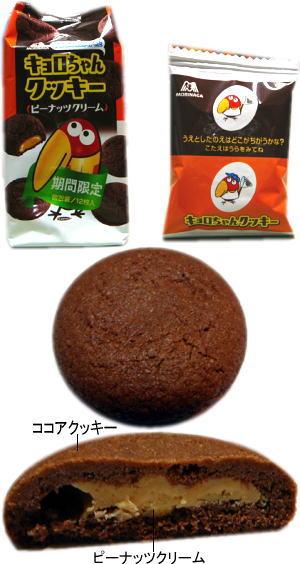 """キョロちゃんクッキー""""ピーナッツクリーム"""""""