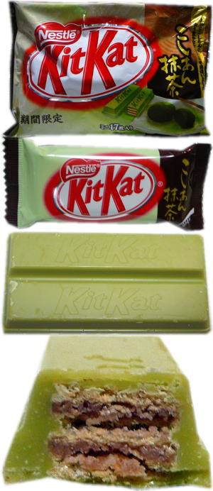 "KitKat""こしあん抹茶"""