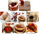 苺デザート3種盛り