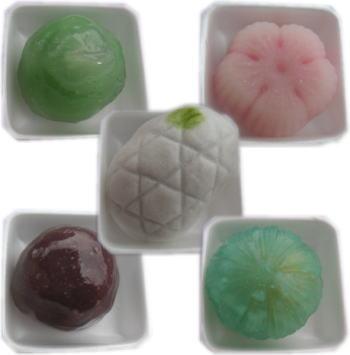 鶴屋八幡の和菓子