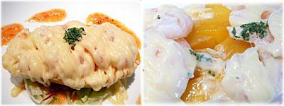 海老とマンゴーのサラダ仕立て