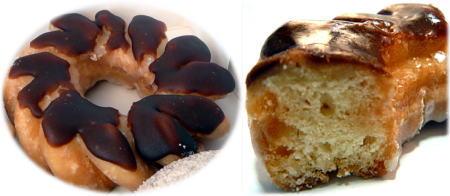 チョコレート グレーズド クルーラー