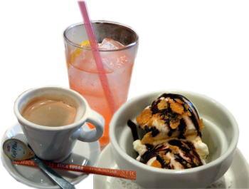 ドリンク&アイスクリーム