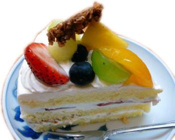 バースデーケーキ(私が食べた分)