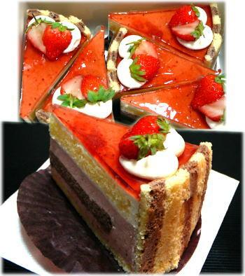 税理士さんから貰ったケーキ