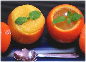 オレンジケーキ&ゼリー