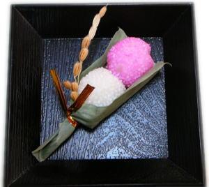 お弁当に入ってた和菓子