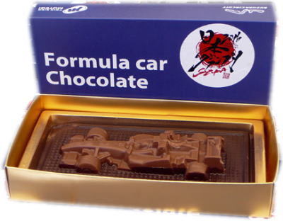 Formula car Chocolate